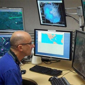 Behind-the-Scenes at the National Hurricane Center