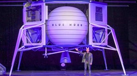 "Blue Origin Unveils ""Blue Moon,"" Its Big Lunar Lander"