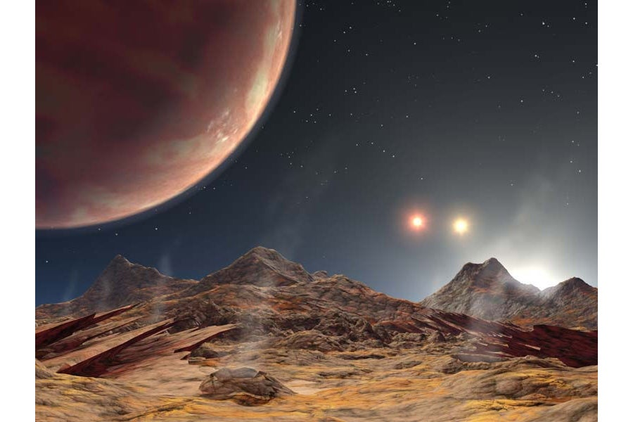 New Alien Planet Boasts Rare Triple Suns - Scientific American