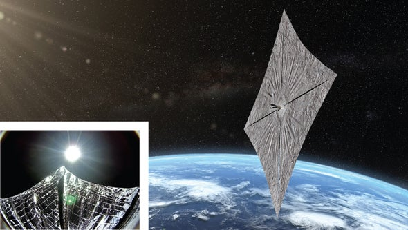 Solar-Sail Technology Gets Its Day in the Sun