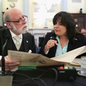 Mariette DiChristina, Vinton Cerf, Senate Commerce, Science and Transportation Committee