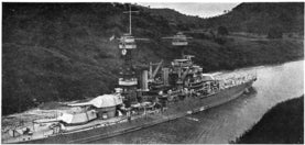 Battleship USS Colorado