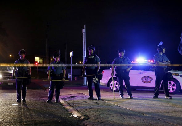 Rubber Bullets in Missouri Clash Highlight Militarization of America's Police
