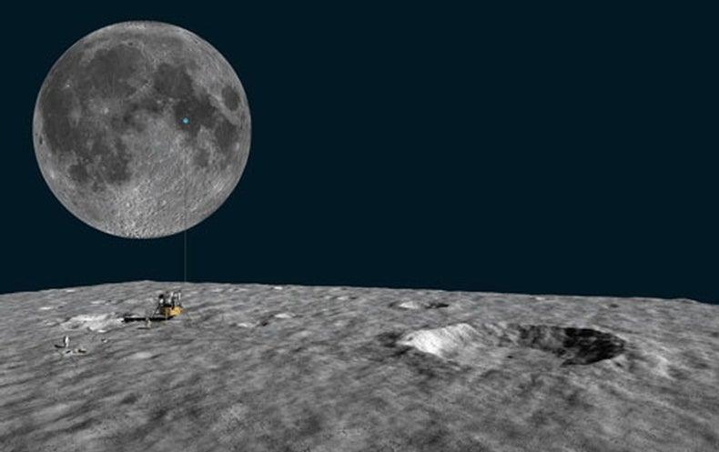 Apollo 11 mission illustration