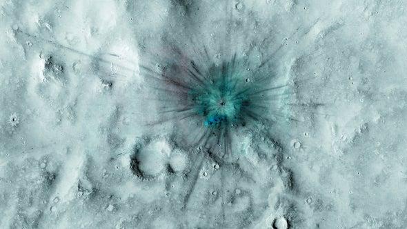 Martian Satellite Photos Show Dynamic Planet