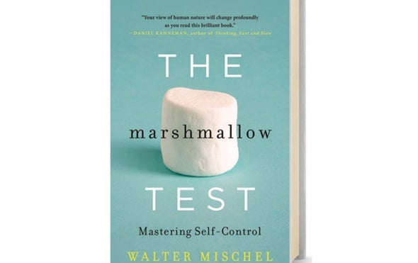 Book Review: <i>The Marshmallow Test: Mastering Self-Control</i>