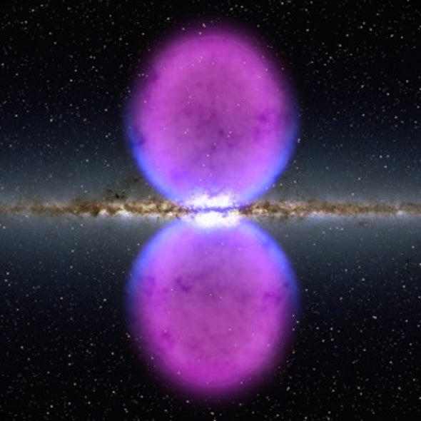 Hidden in Plain Sight: Researchers Find Galaxy-Scale Bubbles Extending from the Milky Way