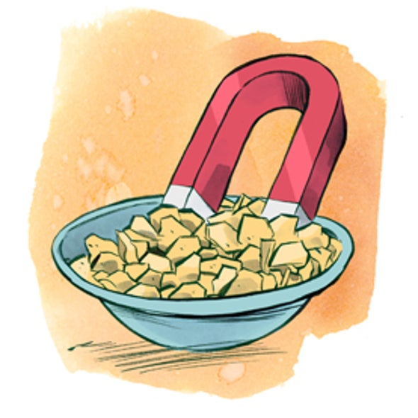 Get the Iron out--of Your Breakfast Cereal