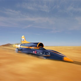 Rocket Man: Land-Speed Racer Pushes 1,000 MpH Barrier [Slide Show]