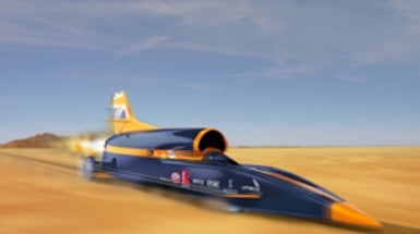 Rocket Man: Land-Speed Racer Pushes 1,000 MpH Barrier [Slide Show]