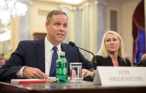 "New NASA Chief Jim Bridenstine Faces ""Uphill Climb"" after Contentious Confirmation"