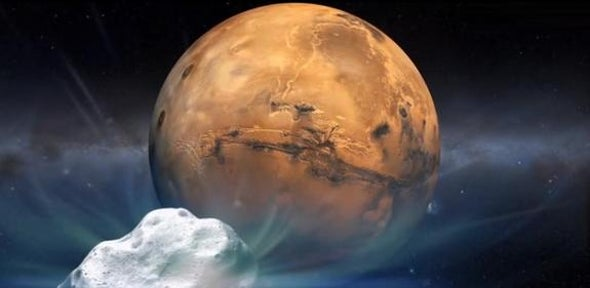 Red Planet Spacecraft Prepare for Rare Comet Encounter