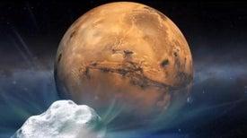 Red Planet Spacecraft Prepare for Rare Comet Encounter