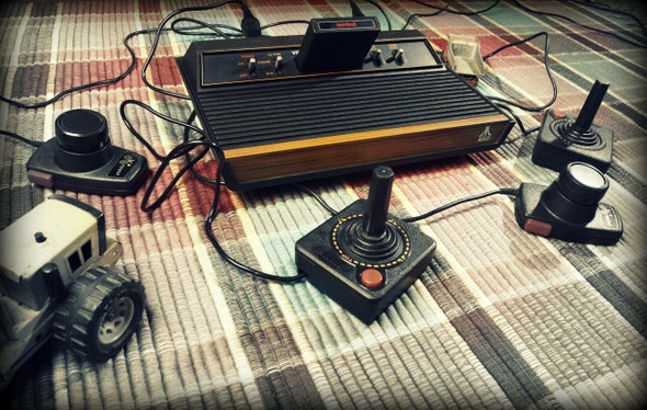 Machine Learning Pwns Old-School Atari Games