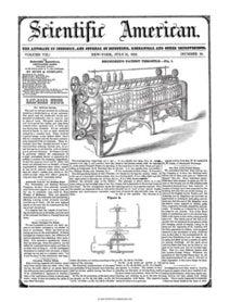 Scientific American Volume 7, Issue 46