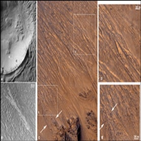 mars deposits