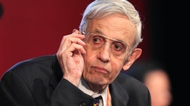 """Beautiful Mind"" John Nash's Schizophrenia ""Disappeared"" as He Aged"