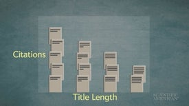 Terse Titles Are Cited More Often Than Longer Ones