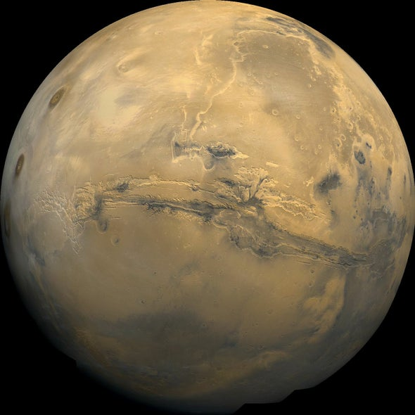 Water on Mars May Be Trapped in the Planet's Crust, Not Lost to Space