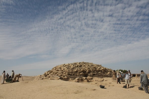 4,600-Year-Old Step Pyramid Uncovered in Egypt