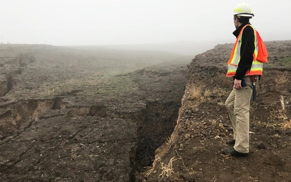 Looming Landslide Stokes Fears, May Help Disaster Predictions