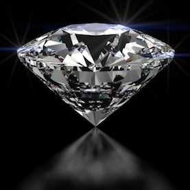 Diamond qubit illustration