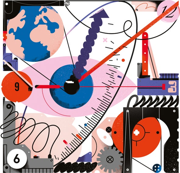 How We Make Sense of Time - Scientific American