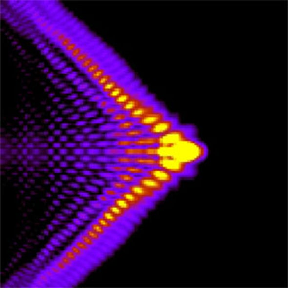 High-Intensity Lasers Throw Scientists a Curve