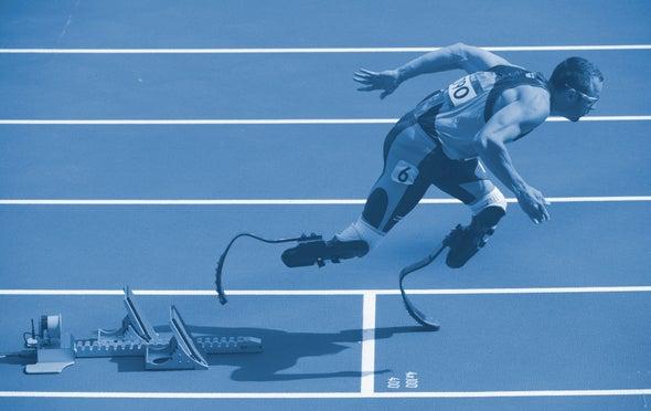 Blade Runners: Do High-Tech Prostheses Give Runners an Unfair Advantage?