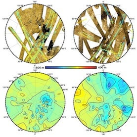 New Titan Map Highlights Moon's Topography