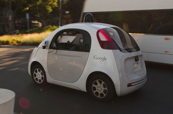 """Google Says It Bears """"Some Responsibility"""" after Self-Driving Car Hit Bus"""