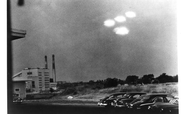 It's Never Aliens--until It Is