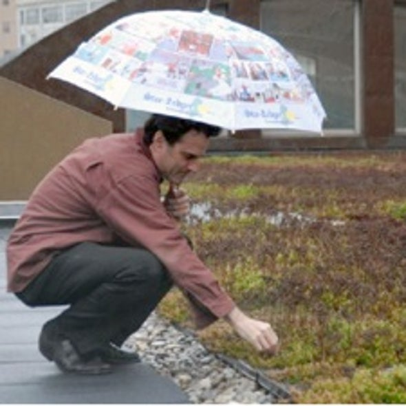 """Over the Top: Data Show """"Green"""" Roofs Could Cool Urban Heat Islands and Boost Water Conservation"""