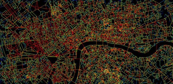 The Brain Takes a Guided Tour of London