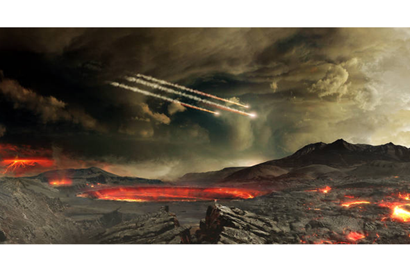Meteorites May Have Created Some of Earth's Oldest Rocks