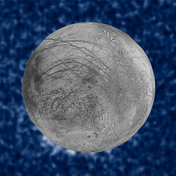 Astronomers Spy Shadowy Plumes around Europa