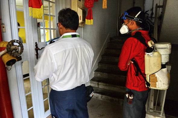 Fast-Moving Zika Outbreak in Singapore Continues to Grow