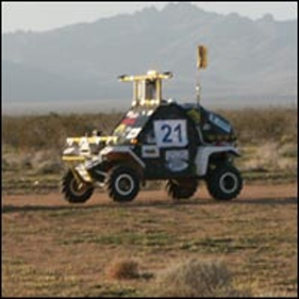 Robots Come Up Short in the Grand Challenge