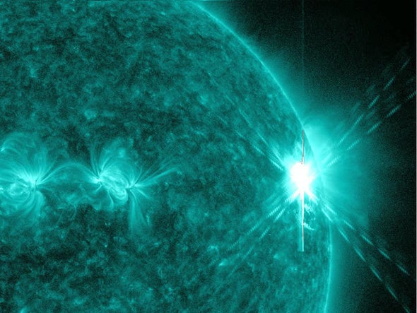 Spot-on: Massive X-Class Solar Flare Could Disrupt Earth Communication