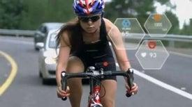 Smart Helmet Monitors Cyclists' Workout