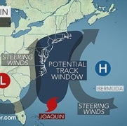 Hurricane Joaquin Could Affect More Than 65 Million from Carolinas to Massachusetts