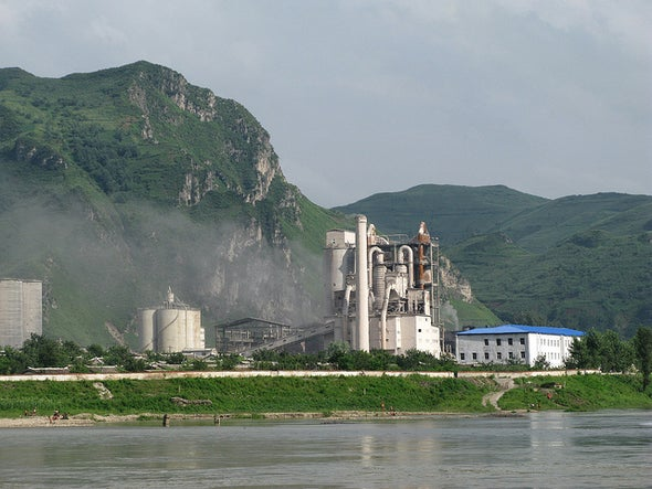 China Will Limit Pollution from Steel and Cement