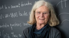 Soap-Bubble Pioneer Is First Woman to Win Prestigious Math Prize