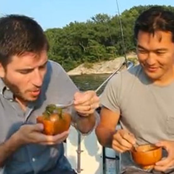 Invasive Seafood: It's What's for Dinner [Video]