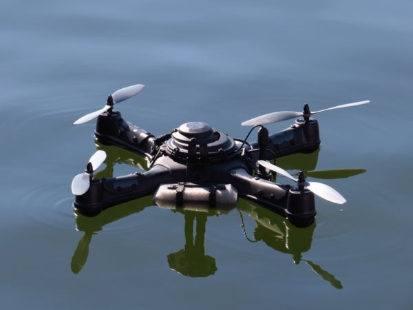 Drones, Robotic Rovers and Citizen Scientists Join Forces to Sample a Lake's Biodiversity