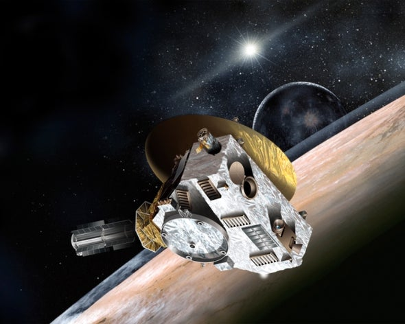 Pluto-Bound Spacecraft Faces Crisis