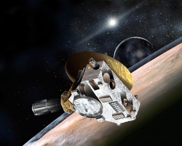 Pluto-Bound Spacecraft Faces Crisis