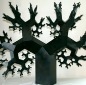 """Mitered Fractal Tree I,"" by Koos Verhoeff and Anton Bakker"