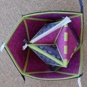 Cuboctahedron-Projective Plane Transformer.
