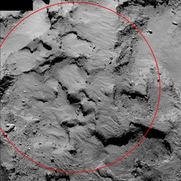 Lander Stable on Comet, for Now